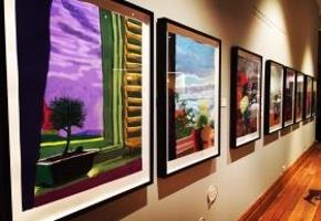 The Hockney Gallery at Cartwright Hall